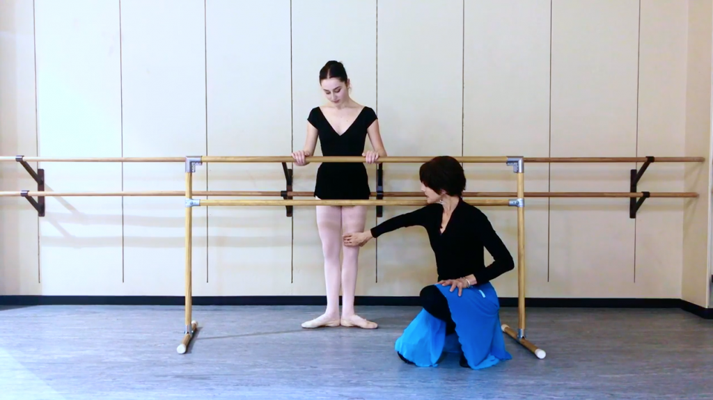 how to do ballet online
